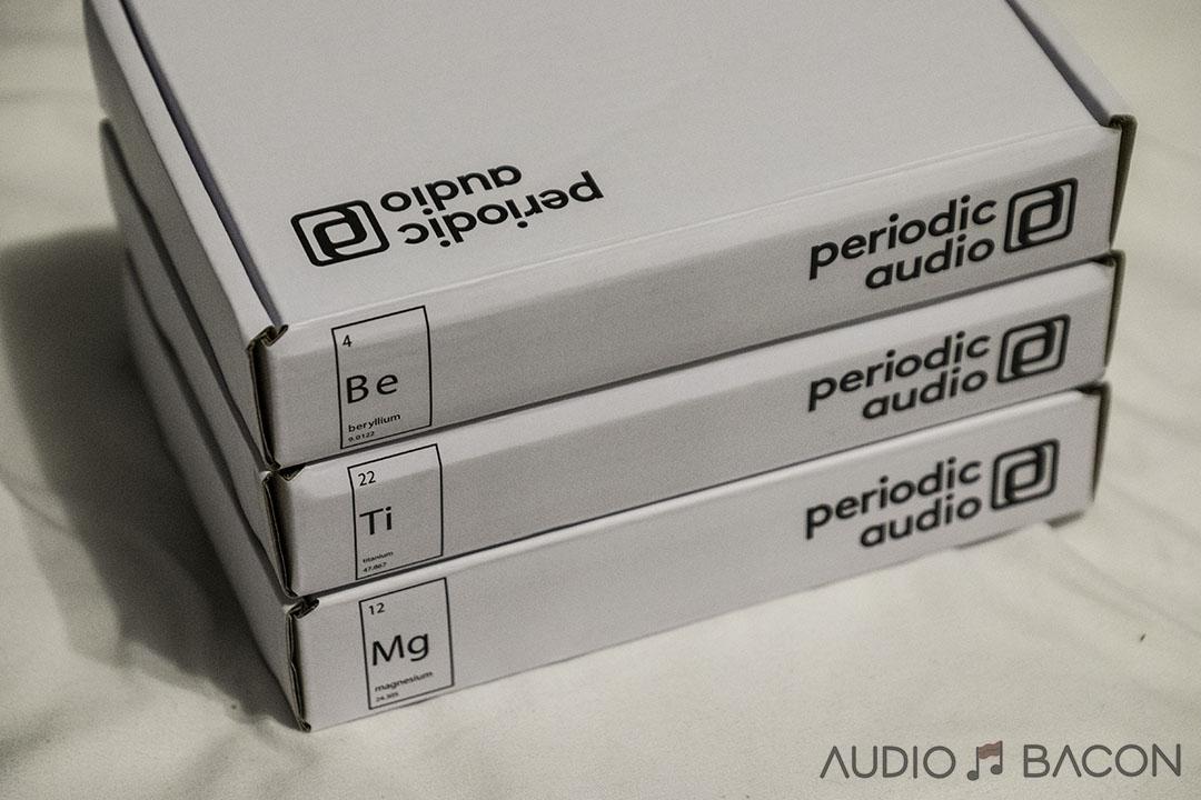 Periodic Audio In-Ear Monitors – The Elemental Sound of Magnesium, Titanium, and Beryllium