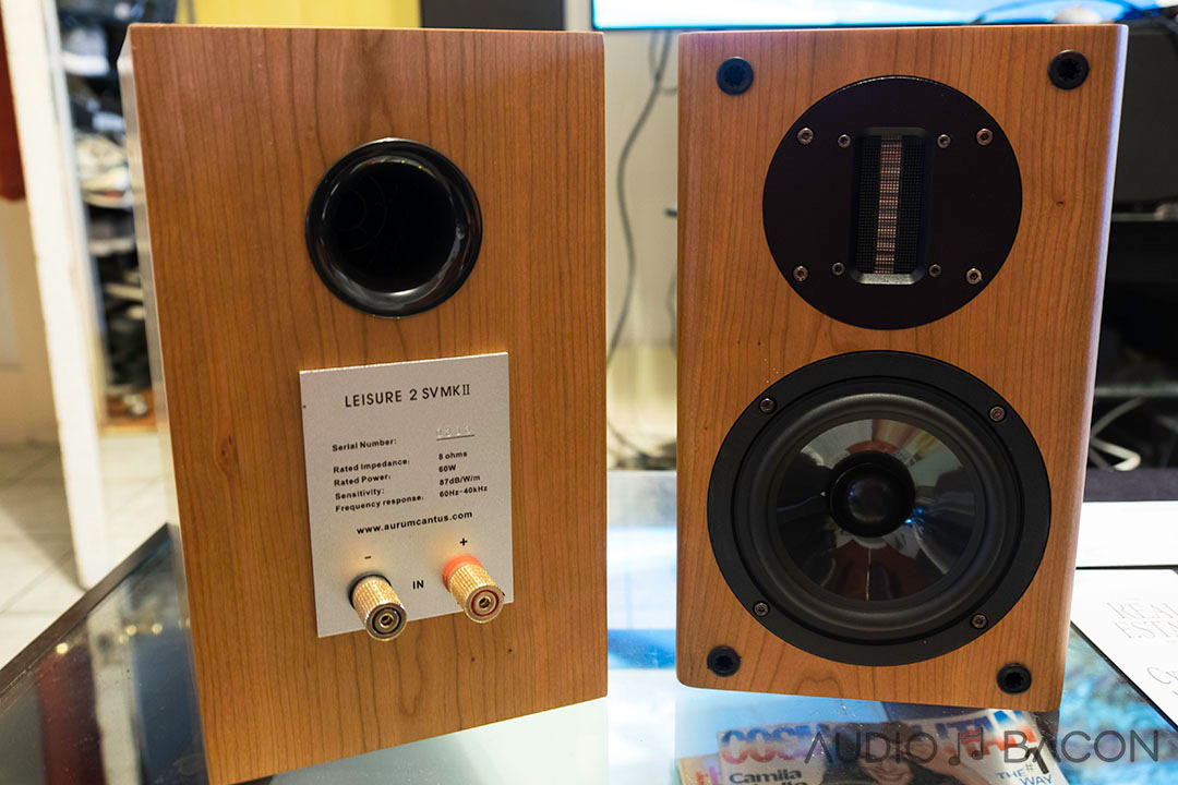 Aurum Cantus Leisure 2 Sv MkⅡ Loudspeaker Review Audio Bacon