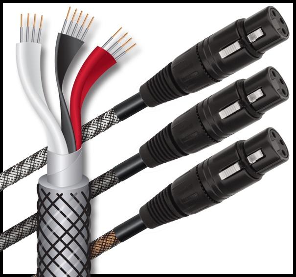 Wireworld Micro Series 8 Balanced Analog/Digital Cables